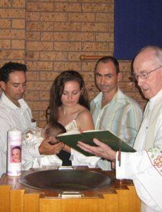 Christening Shontell